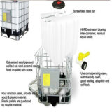Matériel automatique de soufflage de corps creux pour des emballages de 2000L IBC