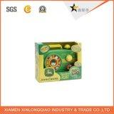 Подгонянная высоким качеством безопасная мягкая коробка индикации игрушки/куклы упаковывая бумажная