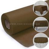 Polipropileno biodegradáveis pano de mesa 15# Brown