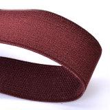 Parentesi graffe elastiche di cuoio delle signore delle bretelle dell'uomo della tessitura del foro di tasto (RS-17021D)