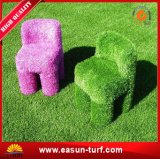 Stuoia sintetica dell'erba dell'erba artificiale dell'interno decorativa del tappeto erboso del rivestimento per pavimenti