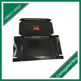 Cadre auto-bloqueur de papier noir de dessus de repli pour la logistique