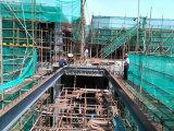 Construcción de acero alta de la torre agrupada por el marco de acero y el cemento