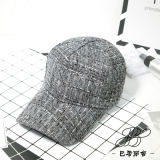 Мода белый/черный шерсть бейсбола зимой с Red Hat