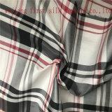 Tela teñida polivinílica de la verificación del hilado de seda, tela teñida hilado polivinílico de seda