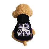 2017 Pet Holloween Hoodie manteau d'éclairage LED de Noël de chien de vêtements