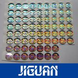De in het groot Sticker van het Etiket van het Hologram van de Douane van de Druk Goedkope