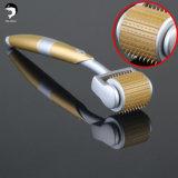 Systeem 3 van de Rol van micro- Derma van de Naald in Privé Etiket 5 van 1 Uitrusting in 1 540 Zgts 4 in 1 Ce Goedgekeurde Zilveren Gouden Rol van Derma van het Titanium