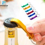 Edelstahl kann kundenspezifischer Flaschen-Öffner Keychain sein
