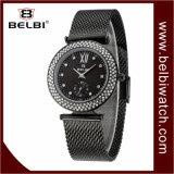 Het Waterdichte Kwarts van het Roestvrij staal van de Luxe van Belbi Dame Analog Wristwatch