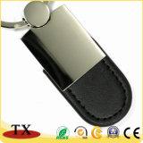 Heißes Art-Metallleder-Schlüsselkette mit kundenspezifischem Firmenzeichen