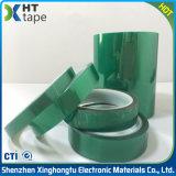 Nastro adesivo di vendita del poliestere caldo di verde per il mascheramento della saldatura del PWB