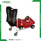 مركز تجاريّ مزح التعشيش لعبة تسوق [كرتك] حامل متحرّك عربة مع لعبة سيّارة