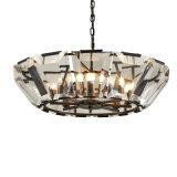 Lampadario a bracci a cristallo della decorazione elegante moderna della sala da pranzo (GD18110P)