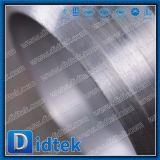 Valvola a saracinesca dell'acciaio legato dell'attrezzo di vite senza fine della fabbrica di Didtek Cina con la valvola di derivazione