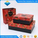 Contenitore impaccante cosmetico di cartone di carta pieghevole su ordinazione