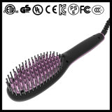 Enderezadora del pelo del cepillo de la visualización del LCD de cerámica (Q20)