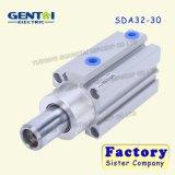 Tipo cilindro compato fino pequeno de SMC do ar de Sda 32-30 hidráulico