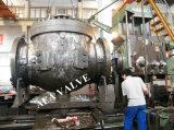 Valvola a sfera superiore forgiata di galleggiamento dell'entrata di Buttwelding dell'acciaio inossidabile
