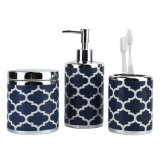 Calados Set de accesorios de baño de cerámica con loción/Dispensador de jabón