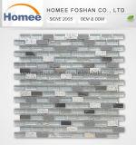 Смешайте цвет стены оформление металлического листа хрустальное стекло газа мозаики