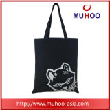 Lona dos desenhos animados da bolsa da forma/saco de compra praia do algodão para senhoras