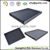 6063 T5/T6 기계장치를 위한 알루미늄 산업 열 싱크 단면도