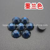 Хороший продавать DMC голубой Циркон Hotfix Crystal гладкой стороне исправление Rhinestone для одежды (HF-SS20 синий циркон /3A)