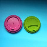 Tazze di caffè di bambù amichevoli della fibra di Eco Drinkware con i coperchi del silicone