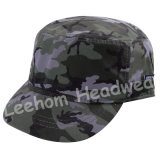 プリントMicrofiberのモモの赤ん坊は軍隊の軍の帽子の帽子をからかう