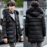 De réchauffeur neuf de modèle de Hoodie hommes extérieurs de couche de l'hiver de jupe vers le bas