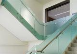 Хороший Railing/балюстрада/поручень/усовик Tempered стекла Frameless балкона цены с матированным стеклом