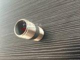 Acero inoxidable que ajusta la entrerrosca externa masculina dual del barril del tubo de la cuerda de rosca