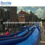 水スライド販売のための膨脹可能で長い都市スライド