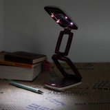 2in1 LED 돋보기 빛 & Booklight -- Foldable (74-1F1702)