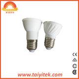 Foco LED de iluminación de techo Lámpara de luz MR16 de 5W GU10