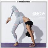 Meisjes van de Broek van de Yoga van het Ontwerp van de douane de Zachte Flex