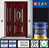 Относящое к окружающей среде нетоксическое цветастое покрытие двери краски металла