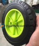 Roda da espuma do plutônio de 8 polegadas para o trole do Wheelbarrow
