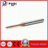Nariz de bola carboneto Non-Solid extremidade longa Mill 2 flautas
