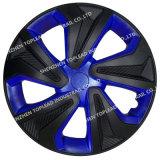 Coperchio nero e blu della fibra del carbonio di alta qualità dell'automobile di rotella del centro