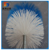 Azul y Blanco cepillo de nylon de torsión de PP para la limpieza