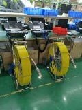 système mettant d'aplomb d'appareil-photo d'inspection de drain d'inclinaison de carter de détecteur de 60m