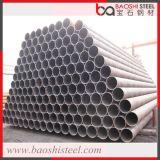 Sección hueco galvanizada alrededor del tubo de acero