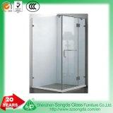 porta do chuveiro do vidro Tempered de 8mm/10mm, tela de chuveiro para o banheiro