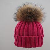 Шлемы Beanie шерсти POM POM Racoon продают оптом