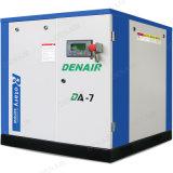 De elektro Compressor van de Lucht van de Schroef van het Type van Luchtkoeling Stationaire voor Garage