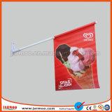 Banderas de la promoción de la pared de la publicidad impresa