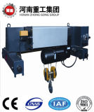 Gru elettrica della fune metallica dell'altezza libera bassa standard di FEM/DIN per il workshop, magazzino Using