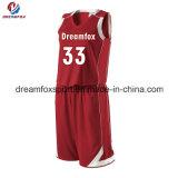 Jersey de basket-ball sublimés par vente en gros faite sur commande de modèle du Jersey de basket-ball de Chine